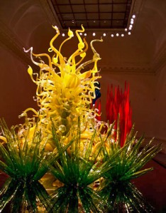 Dale Chihuly at the London Halcyon Gallery